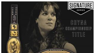 WWE Releases Chyna Signature Series Intercontinental Championship