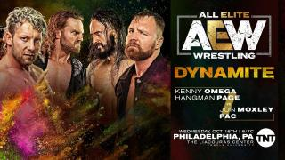 Jon Moxley Teams With PAC To Face Hangman Page & Kenny Omega On 10/16 AEW Dynamite
