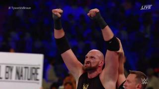 Tyson Fury Scores Count Out Victory Over Braun Strowman At WWE Crown Jewel