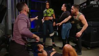 Sasha Banks Attacked By Bayley After Proclaiming That She Wants The SmackDown Women's Championship