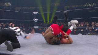 Scorpio Sky Pins Chris Jericho In Jericho's First AEW Loss