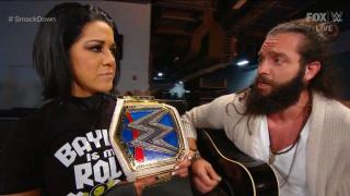 Elias Says Bayley 'Looks Like A Dude' In Secret Santa Song On Smackdown