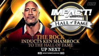 The Rock Inducts Ken Shamrock Into IMPACT Hall Of Fame; Bret Hart, Mick Foley, More Send Messages