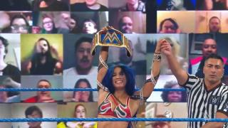 Sasha Banks Makes First Women's Title Defense In Six Tries, Defeats Bayley On WWE SmackDown