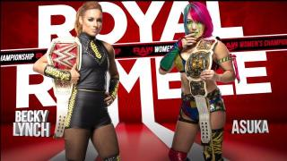 Becky Lynch vs. Asuka For Raw Women's Championship Set For WWE Royal Rumble