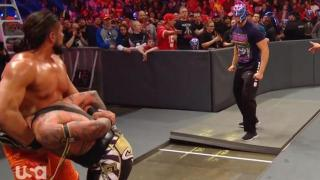 Humberto Carrillo Returns To Monday Night Raw, Saves Rey Mysterio From Further Attack By Andrade