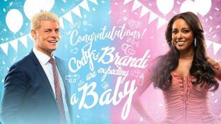 Brandi And Cody Rhodes Announce Pregnancy On AEW Dynamite