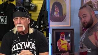 Firefly Fun House Interrupts Hulk Hogan's Interview On 2/14 SmackDown, Bray Wyatt Threatens Hogan
