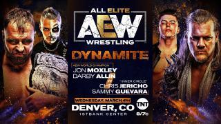 Jon Moxley & Darby Allin vs. Chris Jericho & Sammy Guevara Set For 3/4 AEW Dynamite
