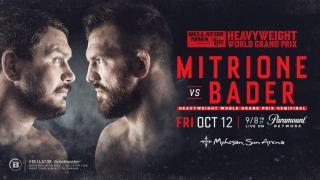 Bellator 207: Bader vs. Mitrione