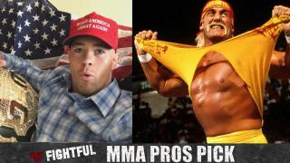 MMA Pros Pick Favorite Pro Wrestlers Growing Up