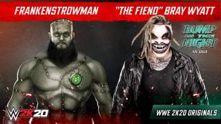 WWE 2K20 Announces 'Bump In The Night' Originals Pack Featuring 'The Fiend' Bray Wyatt
