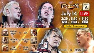 NJPW G1 Climax 28 Day 1 Results: A Block Action Begins, Plus Chaos Members Face Off In Tag Action