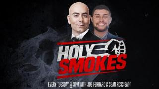 Holy Smokes MMA Podcast (3/20): UFC London Review, Guests Michael Chiesa and Ashlee Evans-Smith