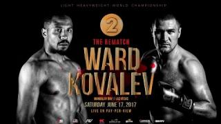 LIVE: Ward vs. Kovalev 2 Preliminary Stream