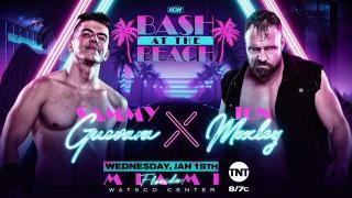Sammy Guevara vs. Jon Moxley Announced For AEW Bash At The Beach