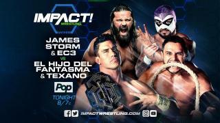 IMPACT Wrestling on Pop TV Results 10/5 EC3 & James Storm vs El Hijo de Phantasma & Texano