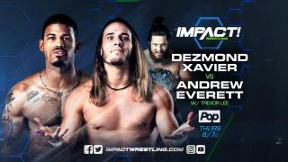 IMPACT Wrestling on Pop TV Results 10/19 Dezmond Xavier vs Andrew Everett, Rosemary vs Taya Valkyrie & More!
