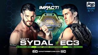 IMPACT Wrestling on POP TV Results 12/7 EC3 vs Matt Sydal Impact Grand Championship Match, oVe in Action & More!