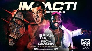 IMPACT Wrestling Live Coverage for 10/17/18 Rich Swann vs Brian Cage for the X-Division Championship
