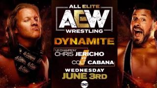 Chris Jericho To Battle Colt Cabana On 6/3 AEW Dynamite