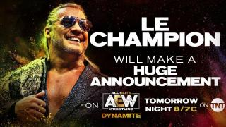 Chris Jericho To Make 'Huge Announcement' On 11/20 AEW Dynamite