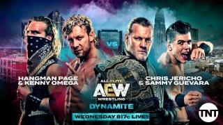 Hangman Page & Kenny Omega vs. Chris Jericho & Sammy Guevara Set For 11/6 AEW Dynamite