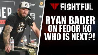 Bellator 214's Ryan Bader talks quick win over Fedor Emelianenko & What's Next