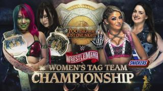 Kabuki Warriors vs. Alexa Bliss & Nikki Cross For WWE Women's Tag Team Titles Set For WrestleMania