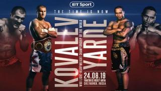 Sergey Kovalev vs. Anthony Yarde Live Coverage And Discussion