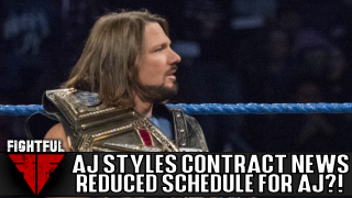 Exclusive: AJ Styles Still Negotiating With WWE, Looking For Reduced Schedule