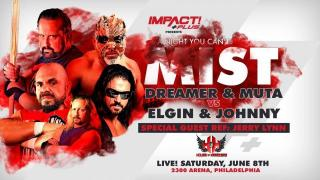 The Great Muta & Tommy Dreamer Face Johnny Impact & Michael Elgin At IMPACT A Night You Can't Mist