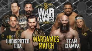 Undisputed Era vs. Team Ciampa WarGames Match Set For NXT TakeOver: WarGames III