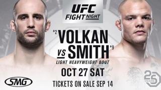 UFC Fight Night Moncton Results: Volkan Oezdemir & Anthony Smith Headline, Plus Michael Johnson Fights On Short Notice