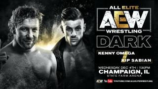 Kenny Omega vs. Kip Sabian Set For AEW Dark Tapings Tonight, To Be Aired On 12/10