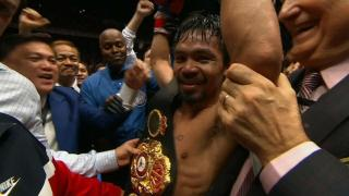 Manny Pacquiao Knocks Out Lucas Matthysse, Wins WBA 'Regular' Welterweight Title