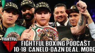 Fightful Boxing Podcast (10/18): Canelo Alvarez To DAZN, Billy Joe Saunders, WBSS