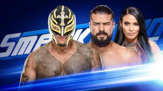 Rey Mysterio vs. Andrade 'Cien' Almas Announced For Tuesday's SmackDown Live