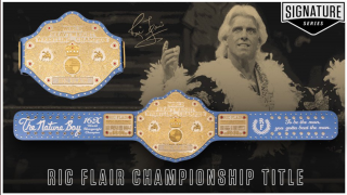 WWE Releases Ric Flair Signature Series World Heavyweight Championship