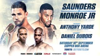 Billy Joe Saunders vs. Willie Monroe Jr. Results: Saunders Retains Title Via Decision