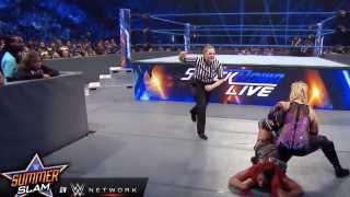 Jessika Carr Serves As Referee In Ember Moon vs. Natalya Match On WWE SmackDown