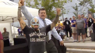 Mark Schlereth Comments On Comparing Rey Mysterio To 'Nacho Libre'