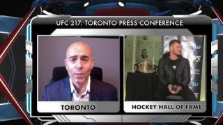Showdown Joe Recaps The UFC 217 Press Conference in Toronto