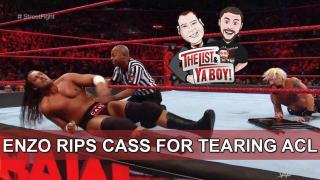 Fightful Wrestling's The List & Ya Boy #78: Melisa's Redemption, Big Cass Fired, Enzo, Omega, Rousey