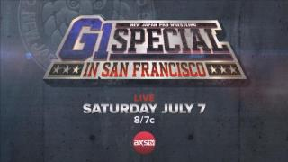 NJPW Announces Full G1 Special From San Francisco Card; Haku, Jeff Cobb Included