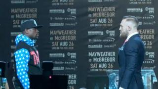 LIVE: Mayweather vs McGregor: Official Weigh-in