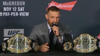 UFC President Shoots Down Diaz – McGregor III Rumor