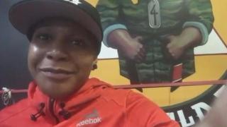 Shana Dobson Talks Lauren Mueller Matchup & Training full time at Team Lloyd Irvin