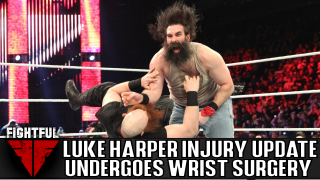 Report: Luke Harper Underwent Wrist Surgery