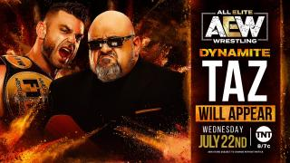 Brian Cage, Taz, and Jon Moxley Will Appear On 7/22 AEW Dynamite